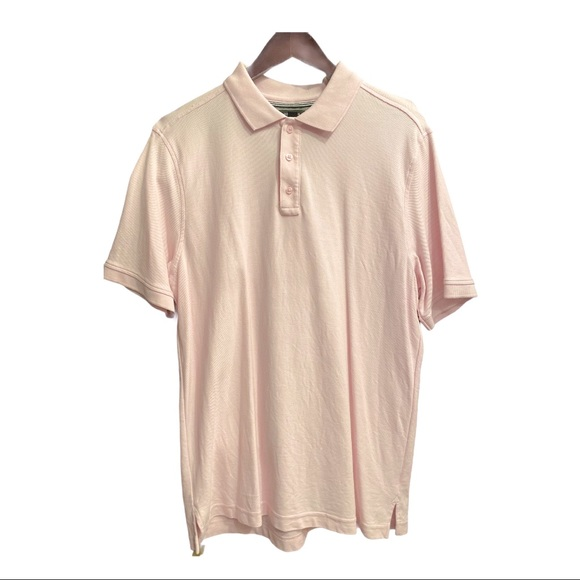 NWOT. Nordstrom Men's Pink Cotton Polo